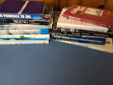 Lot of ski books