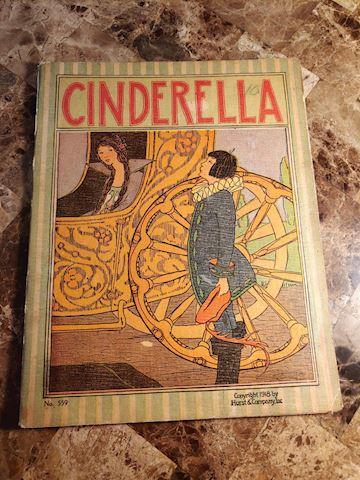 Cinderella 1918 - Rare Book