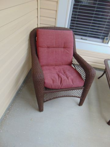 Manufactured Wicker Patio Set