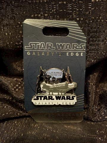 Star Wars Galaxy's Edge Pin
