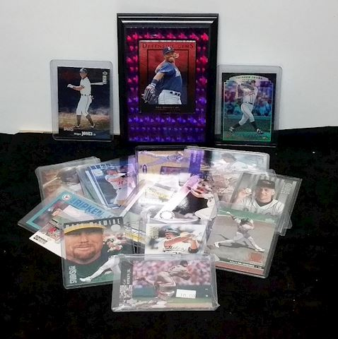 Fantastic Group Of Base Ball Cards