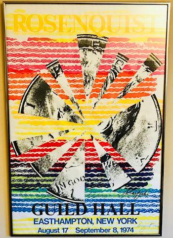 Framed Rosenquist Guild Hall Starfish Poster