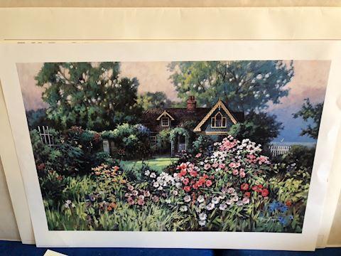 Cottage Garden by Paul Landry