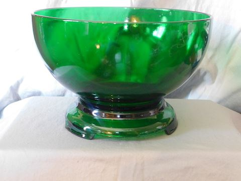 Punch Bowl with base