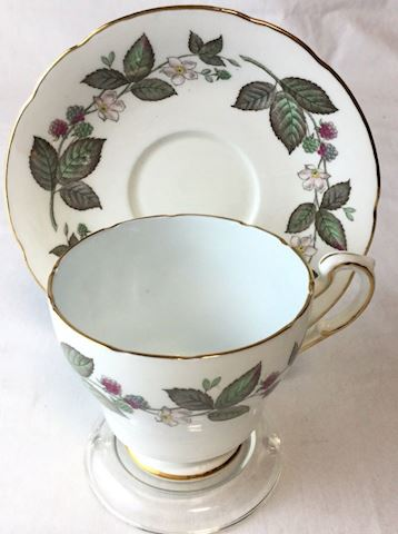 Paragon white green tea cup bone china 80S111