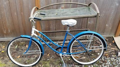 Vintage 1950's 60's girls bike