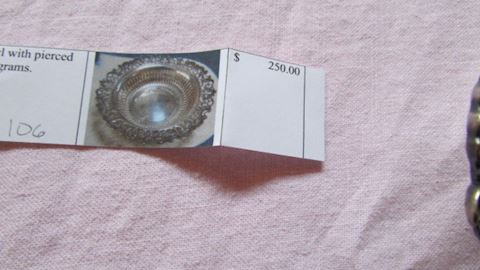 #122- Pair of sterling napkin rings