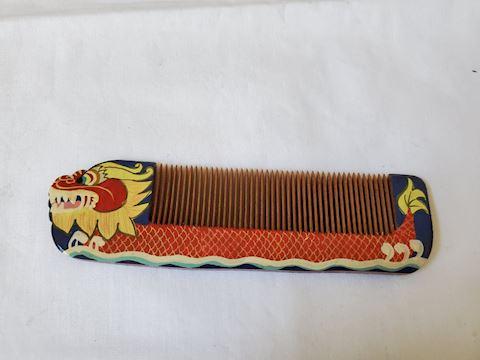 Wood Dragon Comb