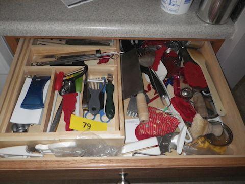 Lot #79 - Kitchen Gadgets