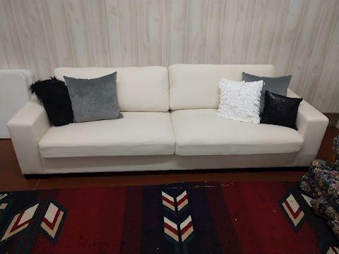 Lionel White Extra Long Sofa