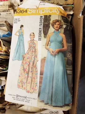 Lot of Vintage Sewing Patterns
