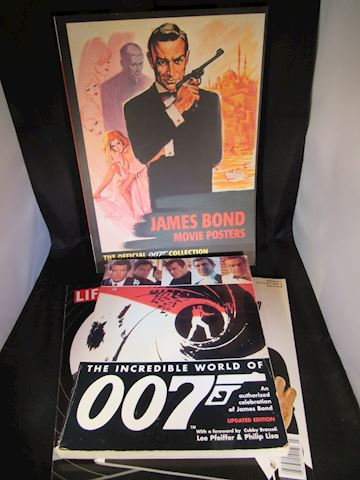Collection of James Bond - 007 - Books