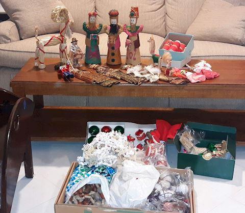 FR  210  Misc Christmas Ornaments