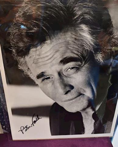 Columbo, Peter Falk Autograph