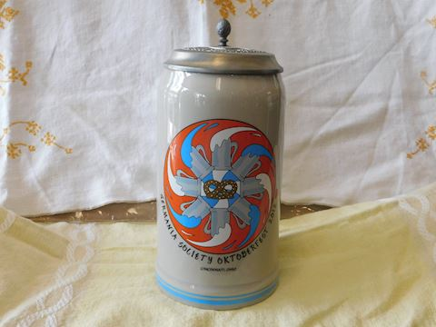 Germania Society Souvenir Beer Stein