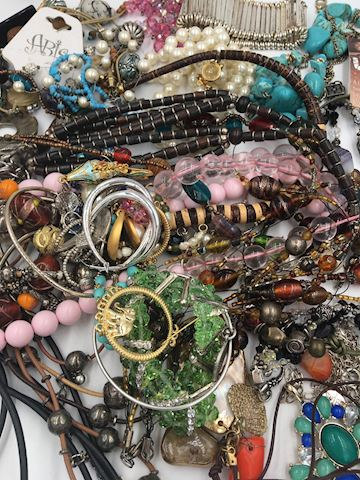 Large Lot of Costume Jewelry All Good Condition