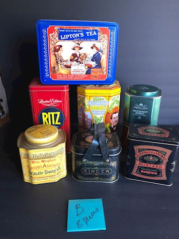 Collection of Tins Lot B