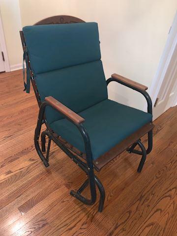 Glider outdoor chair