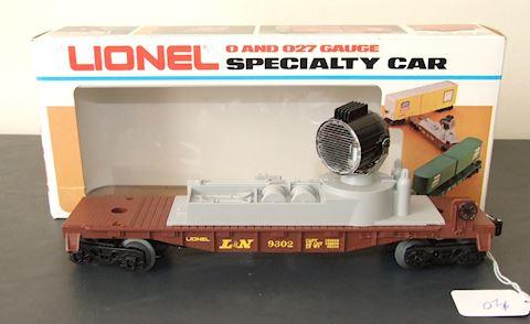 9302 L&N SEARCHLIGHT CAR 1972 – MINT