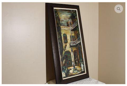 ART SIGNED George Grunblatt Oil Paint New Orleans