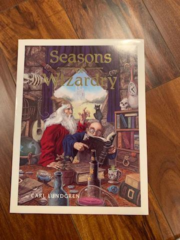 Seasons of Wizardry Portfolio by Carl Lundgren