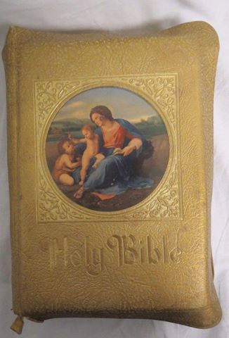 Holy Bible 1953 Family Rosary Commemorative Edit.