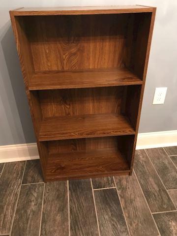 Oak wood shelf
