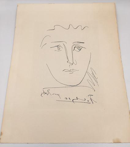 Picasso Etching - Pour Robi