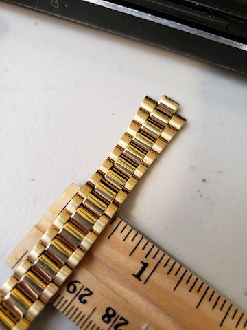 22k gold Seiko Watch Band