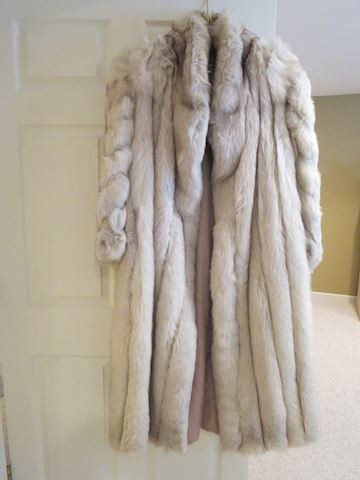 Saga Full Length  Fox Fur Coat   Large Beautiful