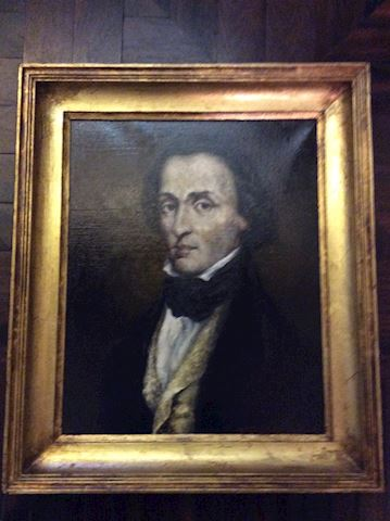 Lot 1 F.Chopin Portret Painting by Jerzy Winkler