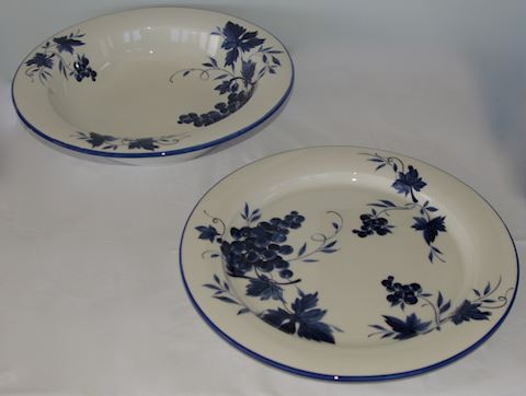 Pair - Serving Platter with Bowl
