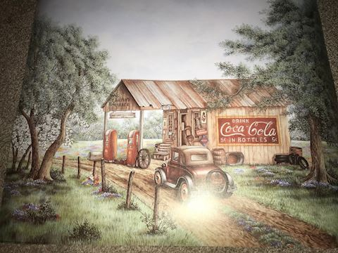 Country Store Coca Cola Poster 16 X 20