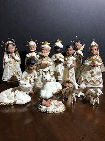 Liv.  545. Nativity scene  Mexican Crèche