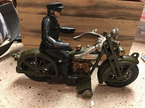 Xonex Harley Davidson 1950's replica