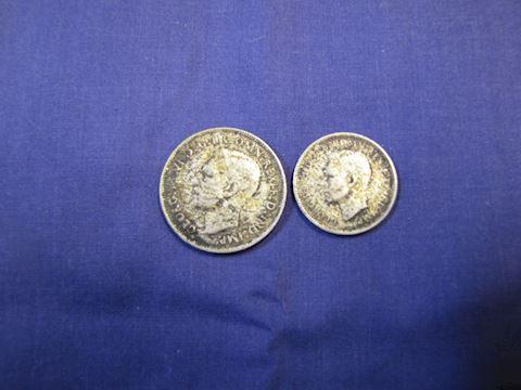 Coins - (2) Australian Silver Coins