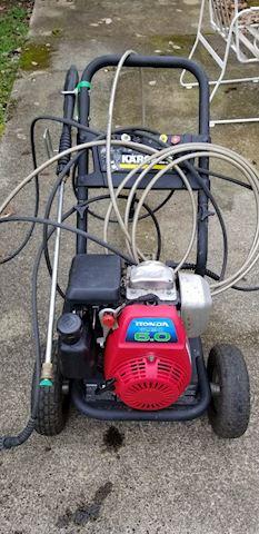 Karcher Honda motor pressure washer