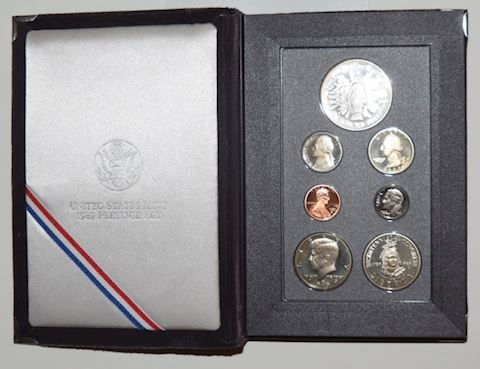 U.S. Mint 1989 Prestige Proof Coin Set