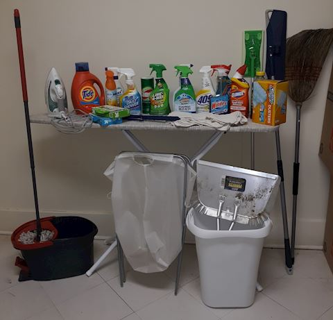 Laun  100  Cleaning and Laundry Supplies
