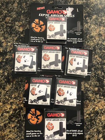 Gammo airgun shells