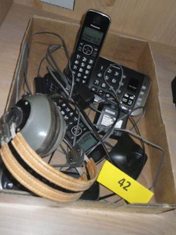 Lot #42 - Headphones & Phones (Basement)