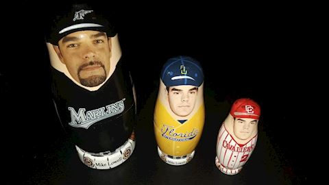 Mike Lowell Nesting Doll