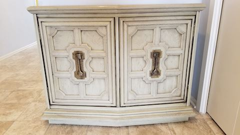 Attractive Double door Hall Chest
