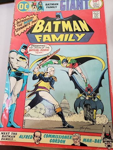 Batman Family issue 1 comicbook
