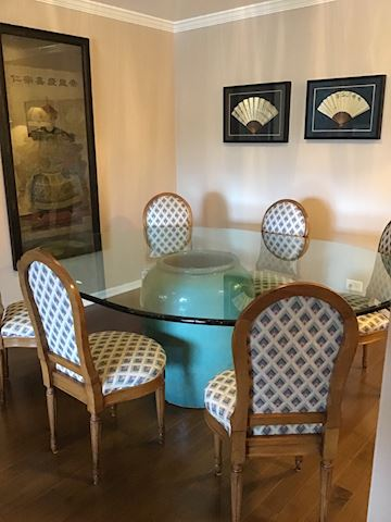 Custom Contemporary Dining Set