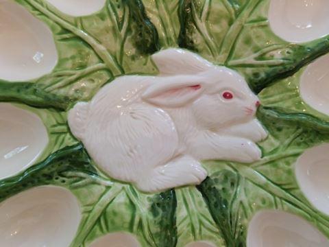Bunny Lane Egg Plate