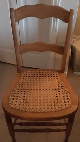 134 - Single Wooden Chair