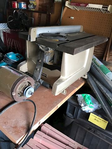 Craftsmans radio alarm saw