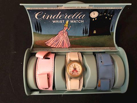 Vintage Disney Cinderella watch by Bradley