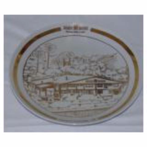 Porcelain Decorative Plate.